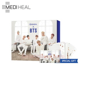 MEDIHEAL Hydrating Moisture Care Special Set 3items [BTS Edition]